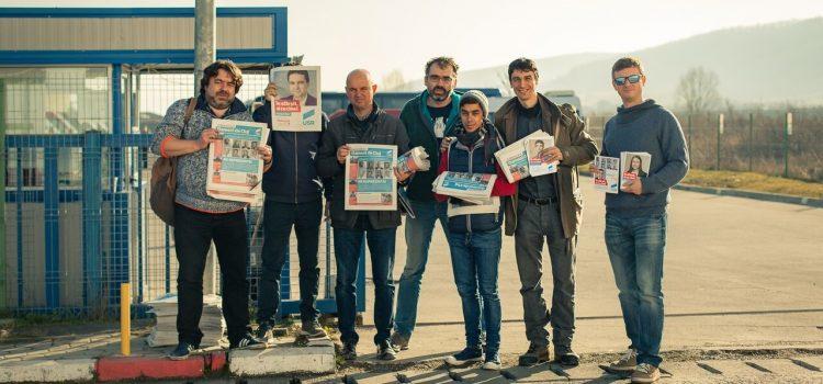 Alooo, Dejul? Aici Uniunea Salvați România. Am venit! (Galerie FOTO)