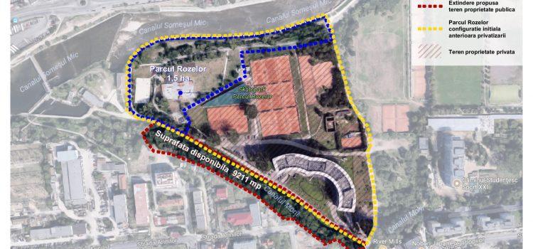 USR Cluj susține amenajarea Canalului Morii de lângă Parcul Rozelor