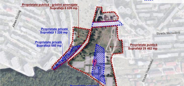 """La Terenuri: """"Vrem spațiu public în Mănăștur"""""""