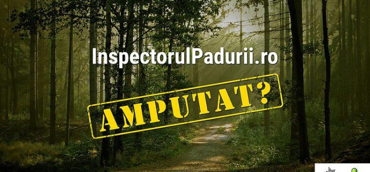 Inspectorul Pădurii amputat?