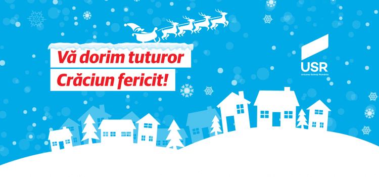 Vă urăm Crăciun fericit!