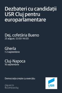 Dezbateri europarlamentare Cluj