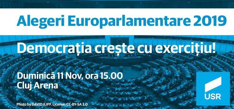 A doua dezbatere pentru europarlamentare