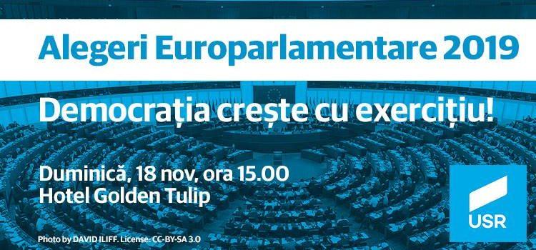 A treia dezbatere pentru europarlamentare