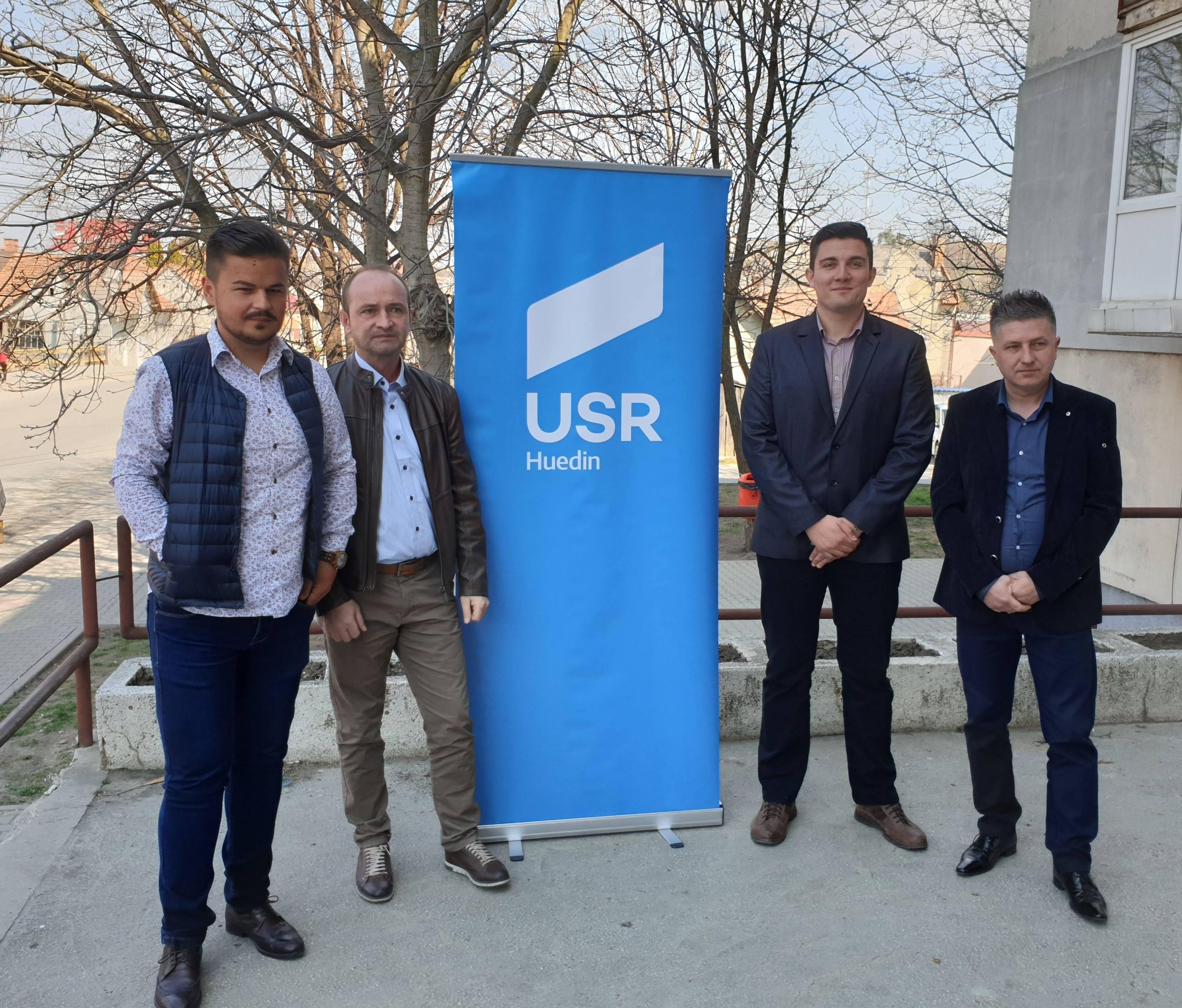 USR Huedin și-a ales componența echipei de conducere