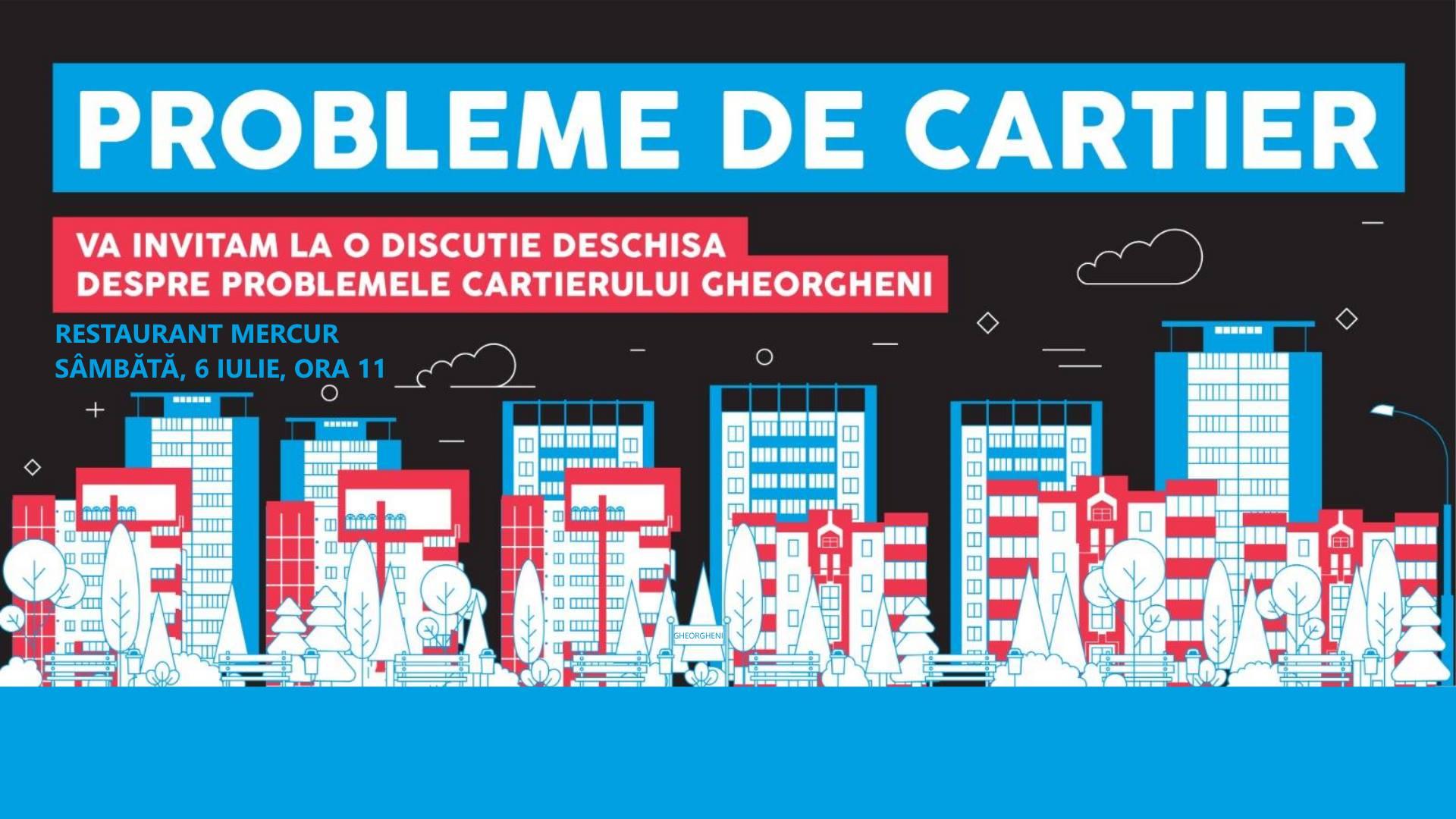 Probleme de cartier: Gheorgheni