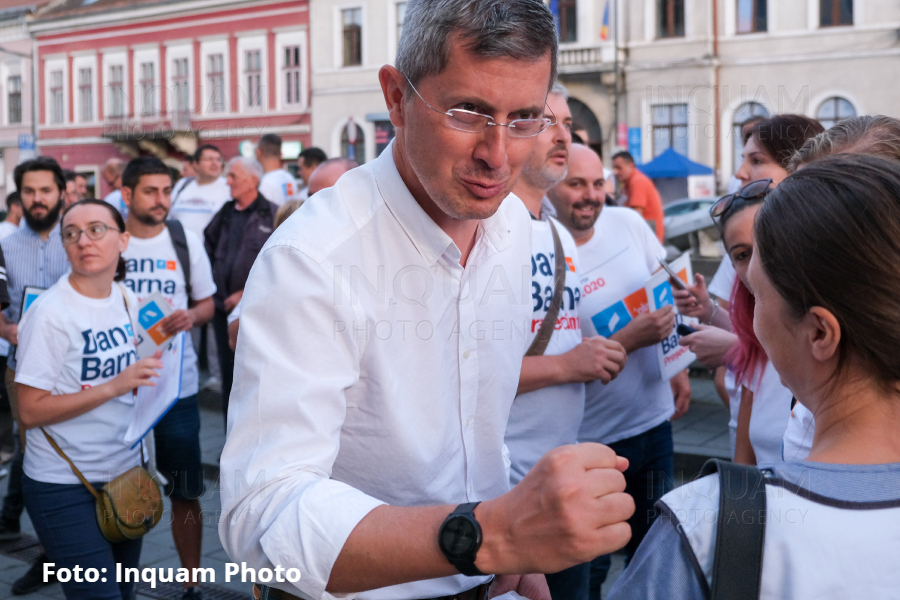 Dan Barna, candidatul Alianței USRPLUS la alegerile prezidențiale