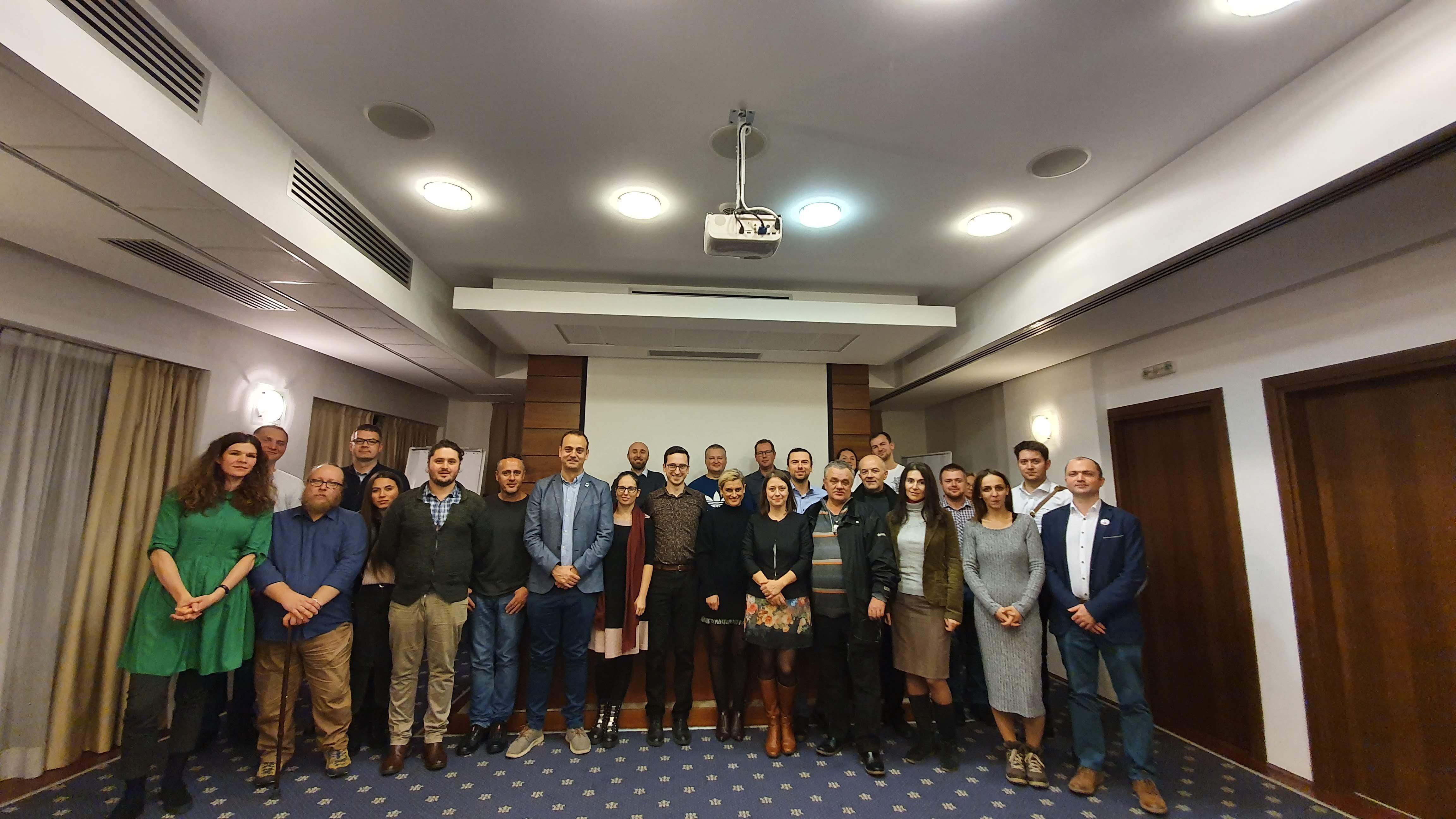 Final competiție internă USR Cluj-Napoca
