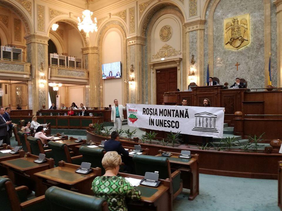 Reluarea procedurilor de includere a Roșiei Montane în UNESCO – solicitare publică a USR pentru Guvernul Orban, cu ocazia Zilei Culturii Naționale