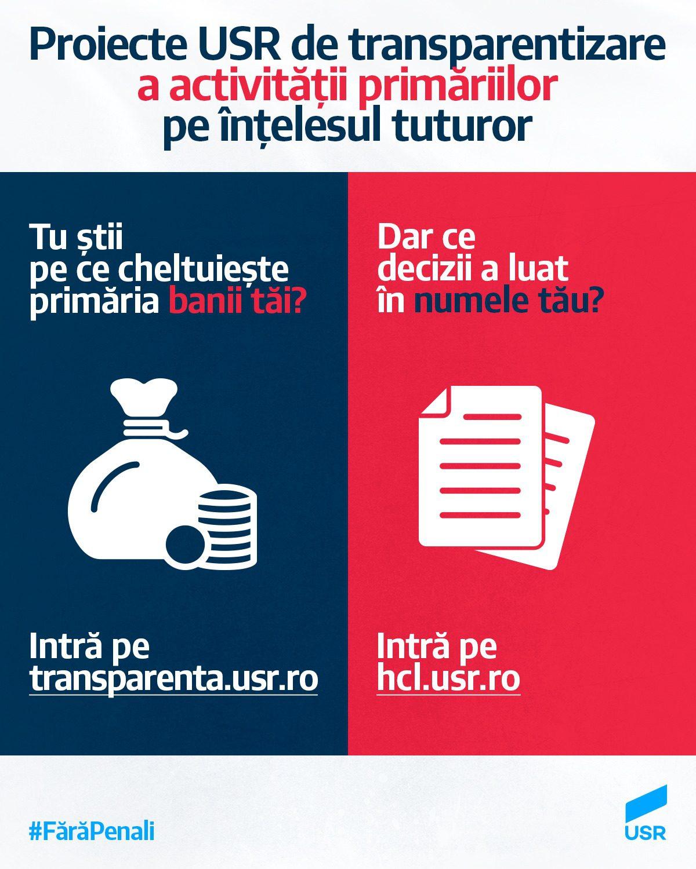 Platformă nouă de transparență a cheltuielilor Primăriei