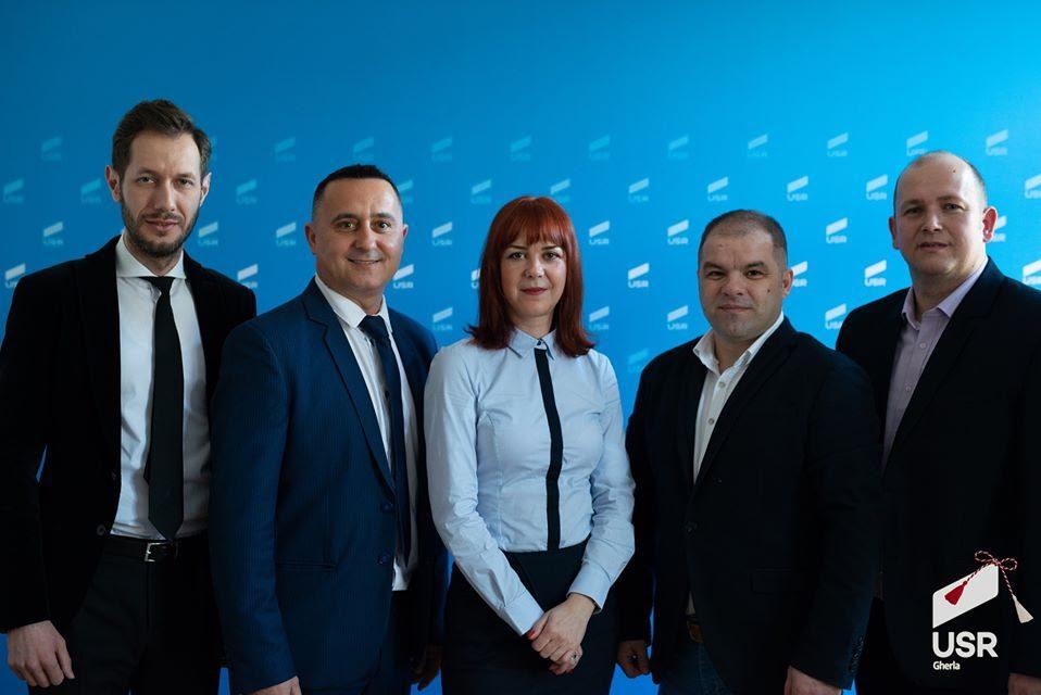 candidații USR Gherla pentru Consiliul Local