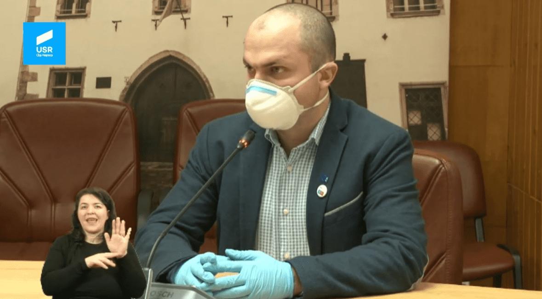 Intervenția lui Radu Boloveschi în Consiliul Local Cluj-Napoca