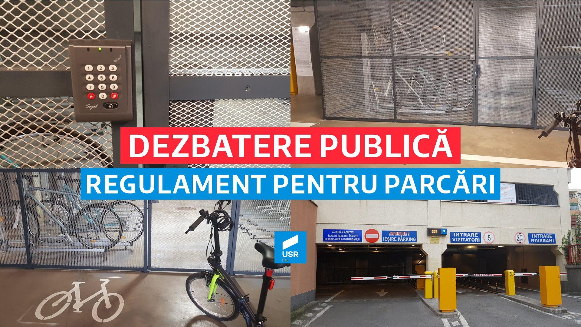 Radu Boloveschi: Amendamente USR la Regulamentul pentru închirierea spațiilor de parcare Cluj-Napoca