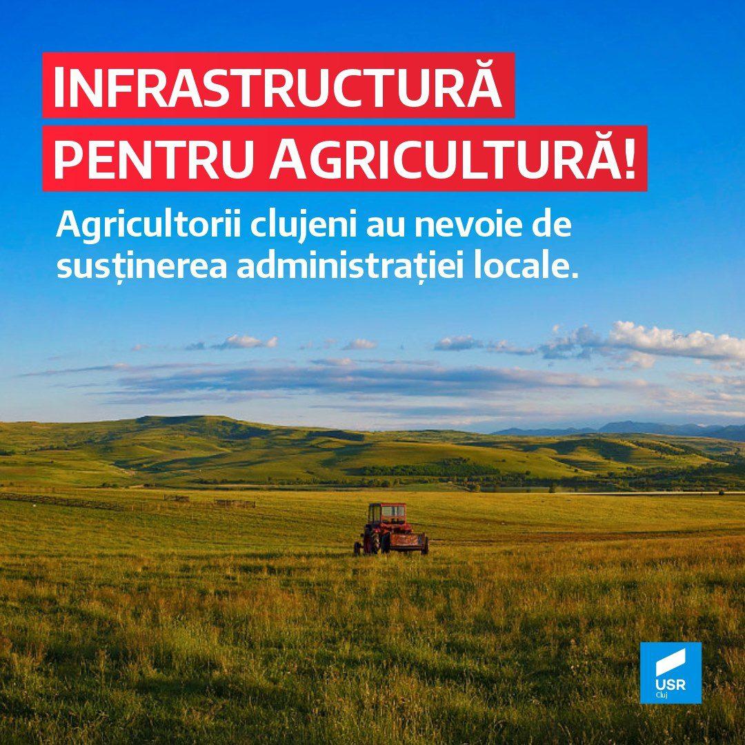 Raluca Hărăguș: Agricultorii clujeni au nevoie de susținerea administrației locale!