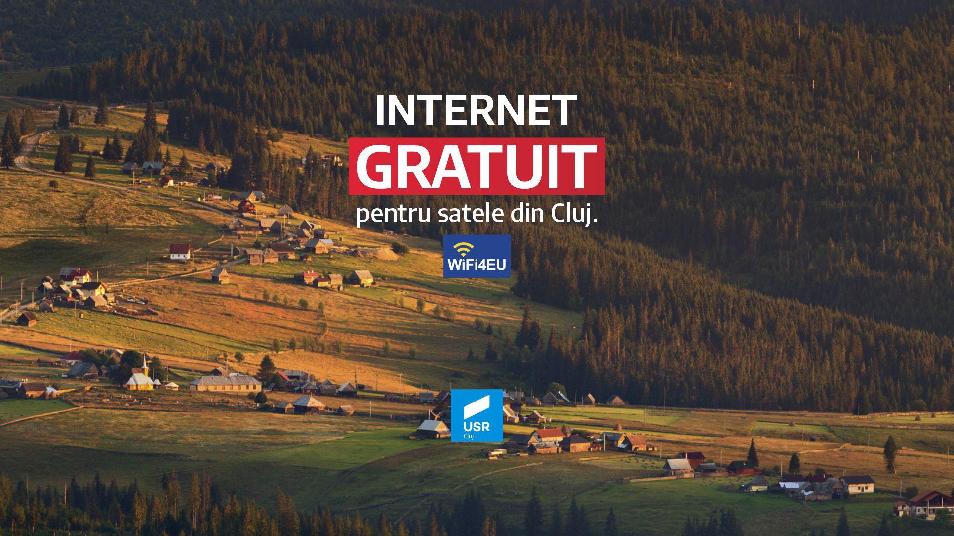 WiFi4EU – Internet gratuit pentru localitățile din România!