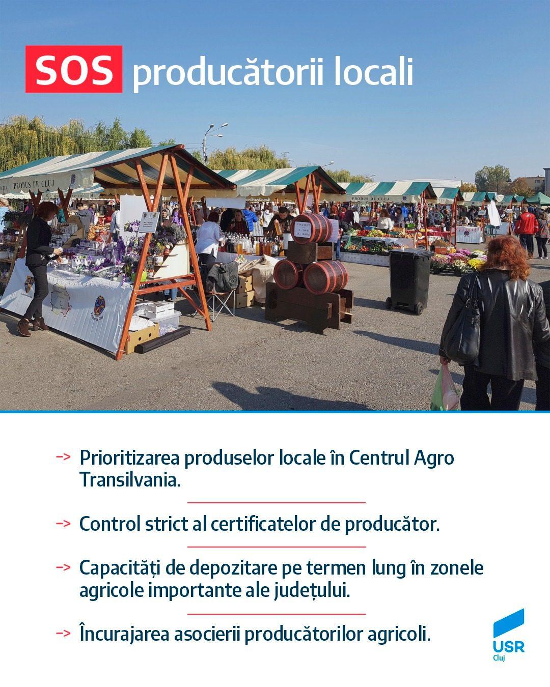 Cătălin Sălăgean: SOS producătorii locali!