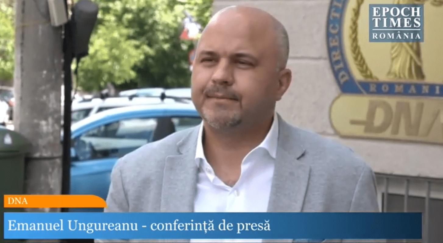 Emanuel Ungureanu: Plângere penală împotriva managerilor de spitale care și-au bătut joc de banii publici!