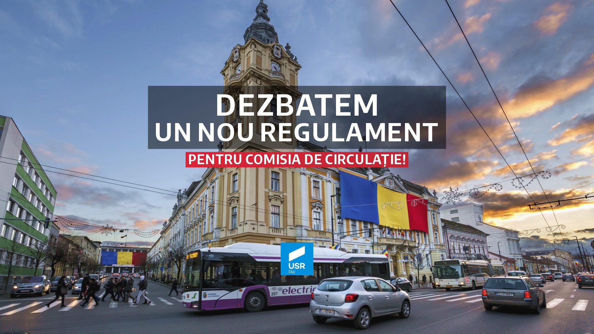 Radu Chirilă: Amendamente pt. o Comisie de Circulație mai transparentă!