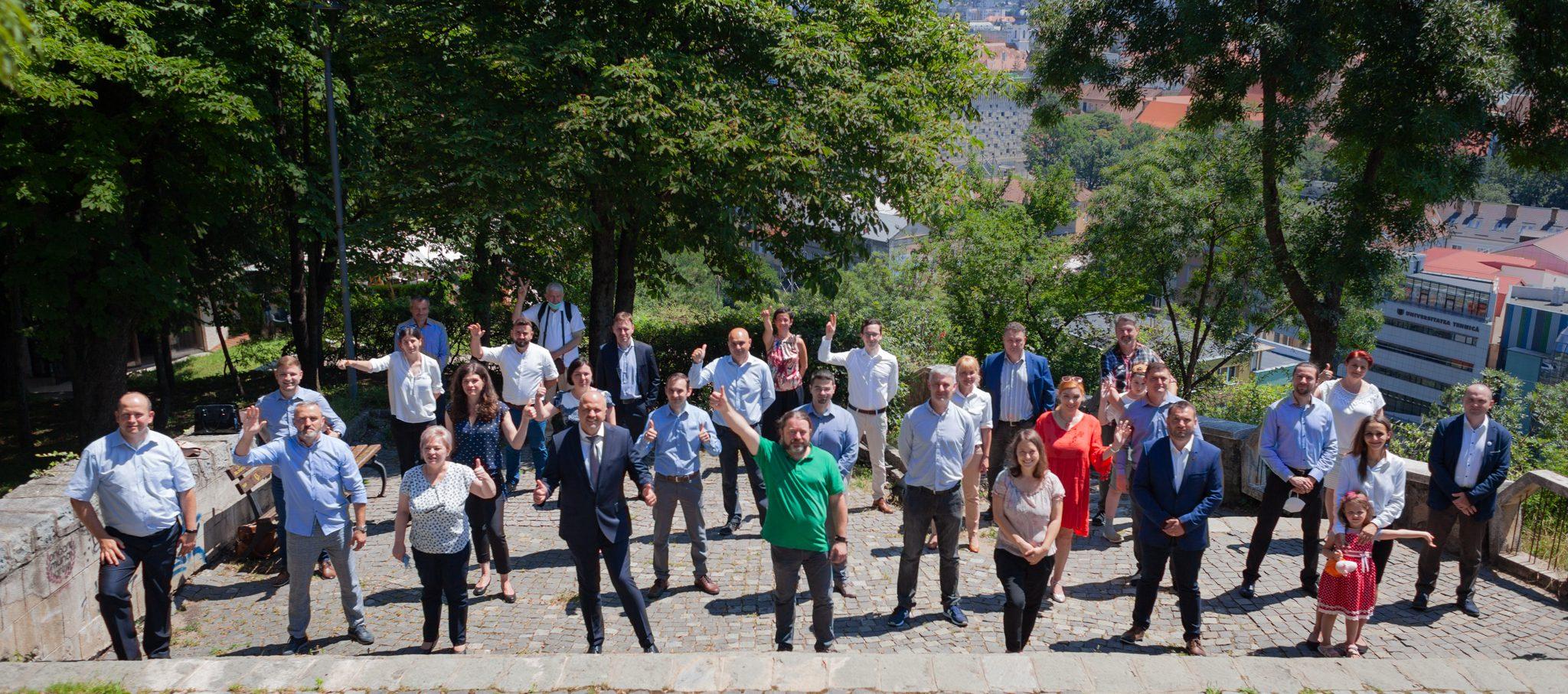 Alianța USR PLUS Cluj intră în linie dreaptă pentru alegerile locale