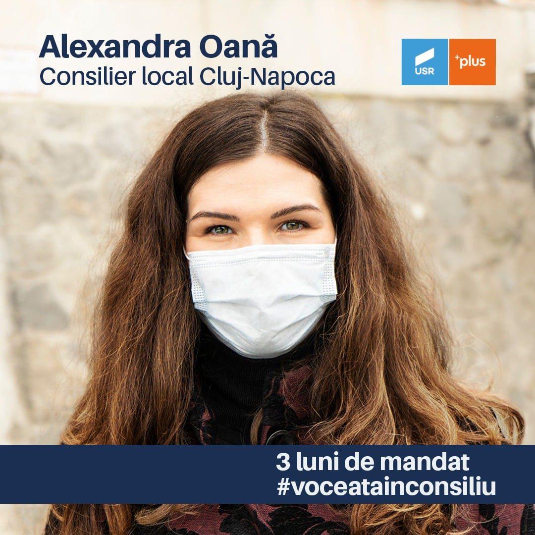 Alexandra Oană: Raport de activitate pentru primele trei luni în Consiliul Local