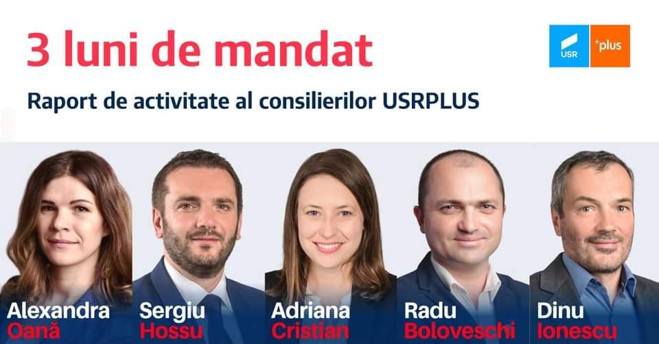 Audiențe online cu Consilierii USR PLUS Cluj-Napoca