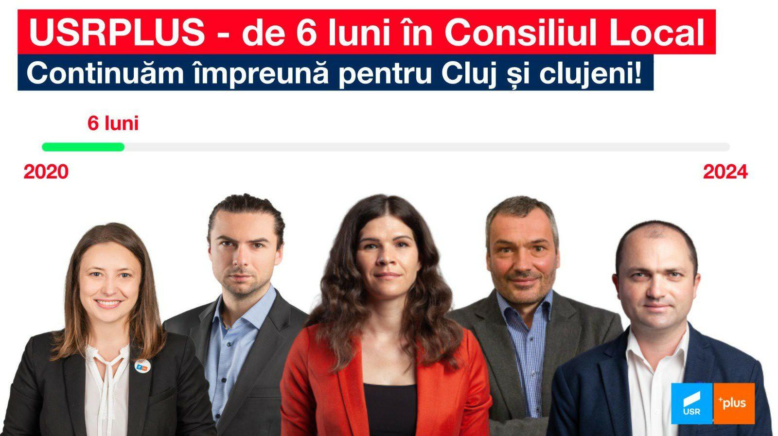 Raport de activitate – 6 luni în Consiliul Local Cluj-Napoca